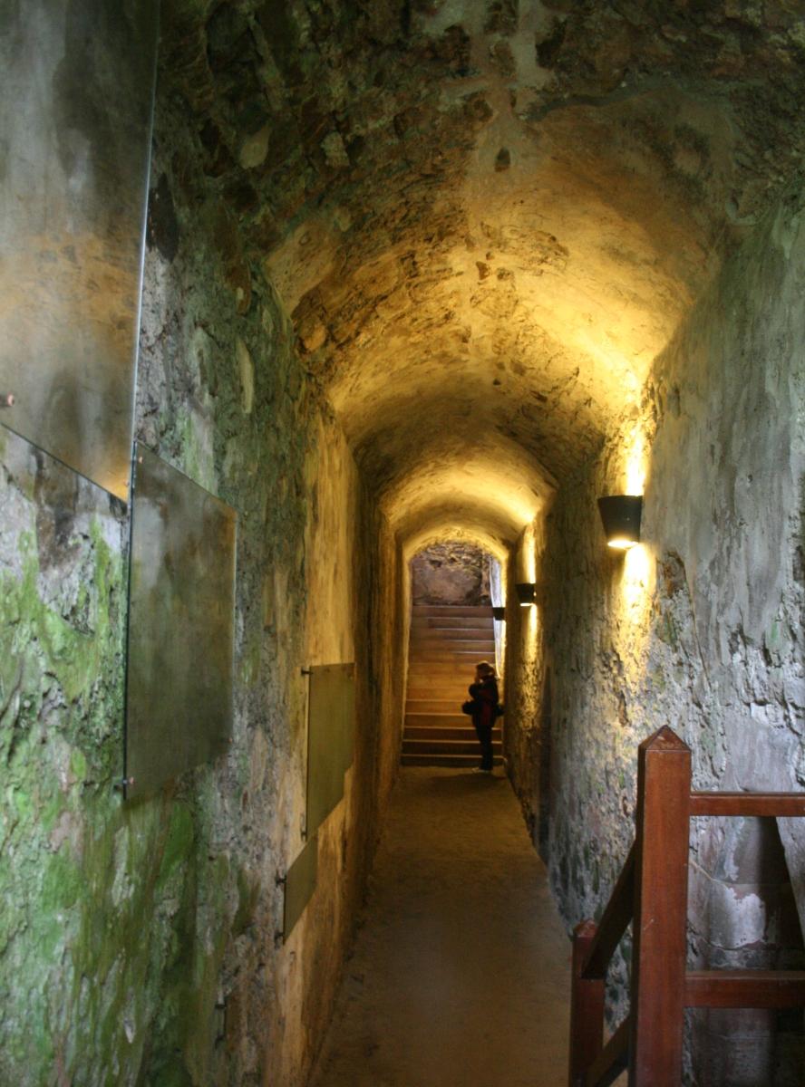 Inside castle inside huntly castle